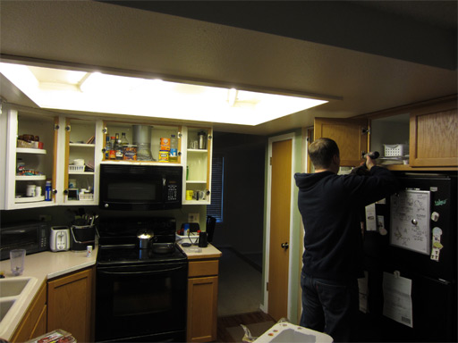Budget Diy Kitchen Remodel Tearing Out Cabinets