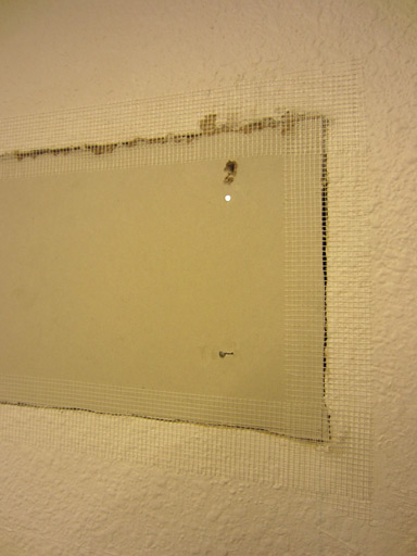 Patching A Large Drywall Hole