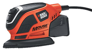 black and decker mouse corner sander