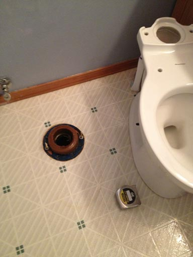 DIY toilet replacement