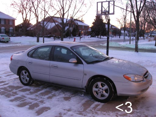 My husband and I shared this 2002 Ford Taurus for 4 years