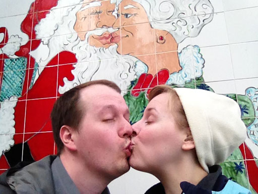 North Pole, Alaska tile mural