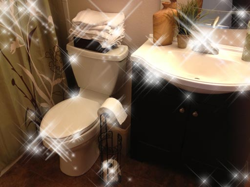 fast bathroom cleaning technique make your bathroom sparkle