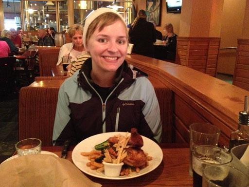Glacier Brewhouse Anchorage dinner