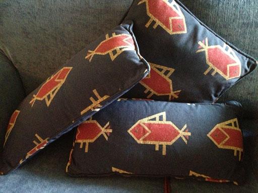 fish pillows