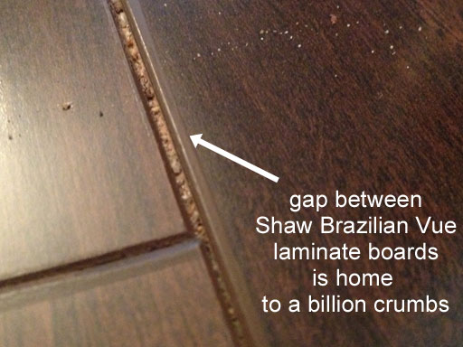 brazilian vue review gap in floor board