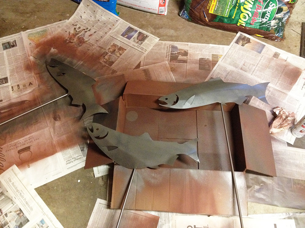fish_yard_ornaments_getting_painted