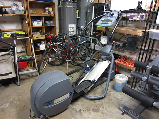My_precor_home_gym_elliptical