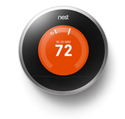 make your home warmer in the winter with a learning thermostat