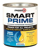 Zinsser smart primer for white kitchen cabinets