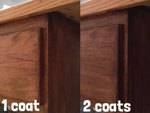 one_coat_vs_two_coats_stain