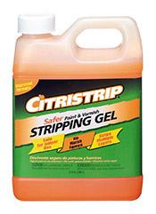 Citristrip stripping gel great for refinishing a bathroom vanity DIY