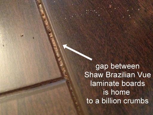 brazilian vue review gap in floor board