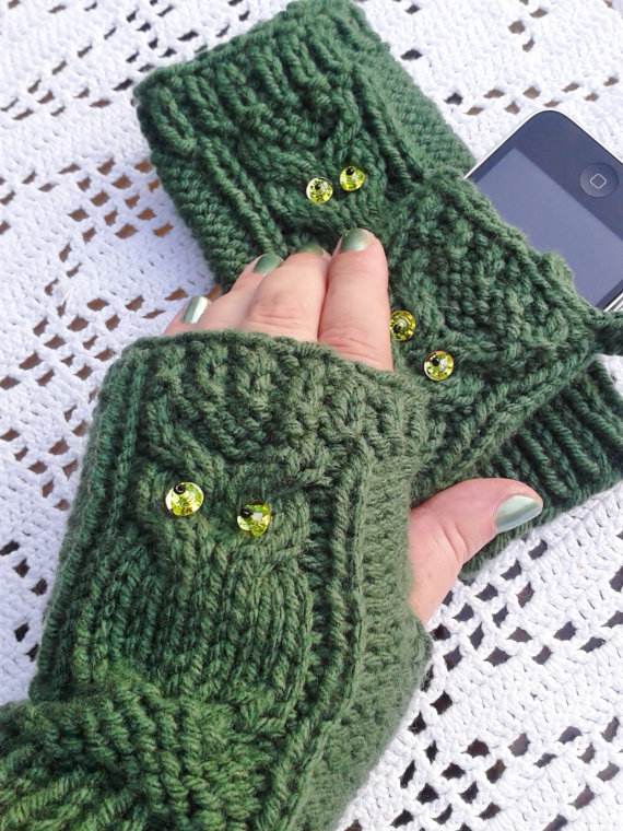 50 Ways to Feel Warmer in Your Freezing Cold House: #18 - wear typing gloves!