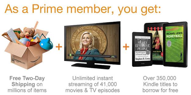 Amazon Prime membership goodies