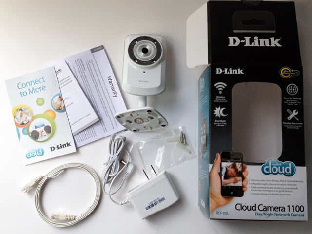 DLink_Cloud_Camera_Box_Contents