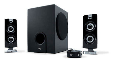 cyber_acoustics_subwoofer_satellite_system_best_home_gym_speakers